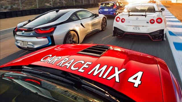 Car Race Mix 4 – Electro & House Bass Music