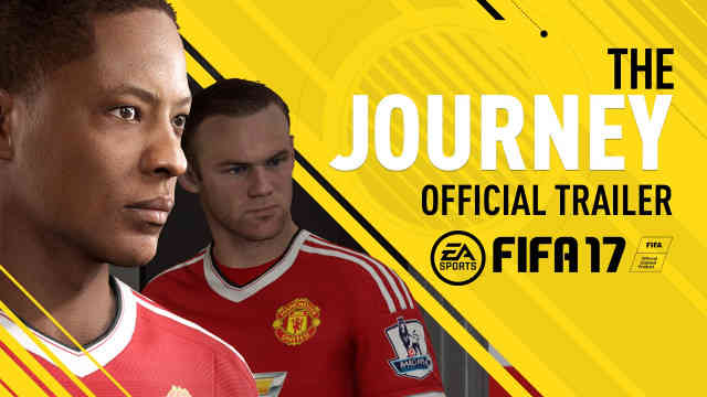 FIFA 17 E3 2016 The Journey Trailer Reaction