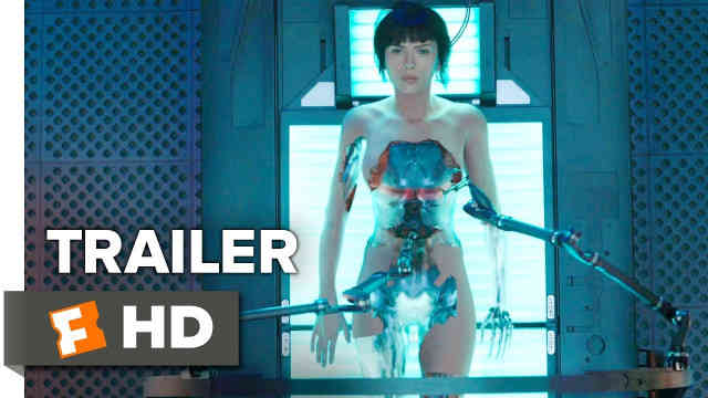 Ghost in the Shell Trailer Reaction
