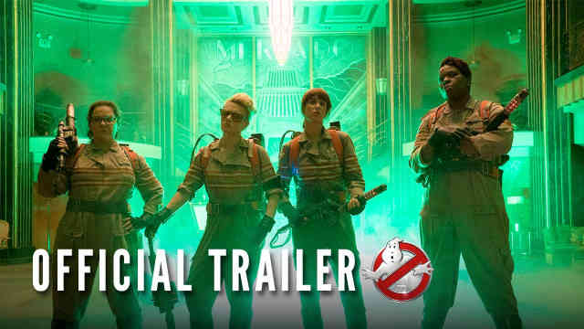 Ghostbusters Official Trailer Reaction