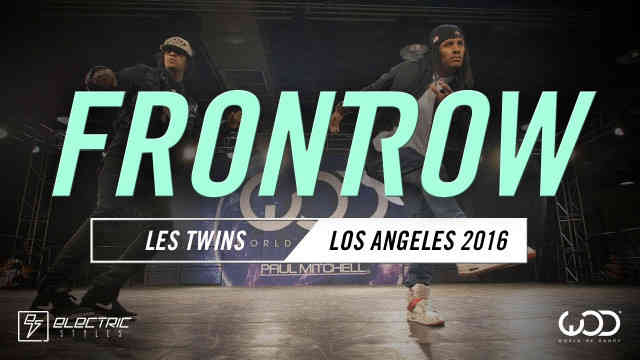 Les Twins | FRONTROW | #WODLA16 Reaction