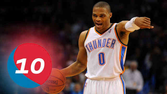 Russell Westbrook – Top 10 Plays of Career Reaction