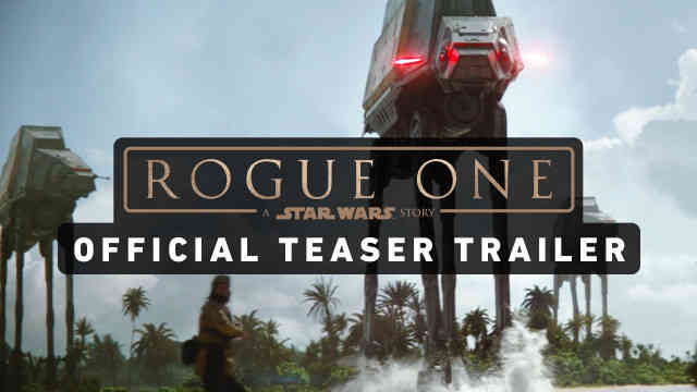 Star Wars: Rogue One – Official Teaser Reaction