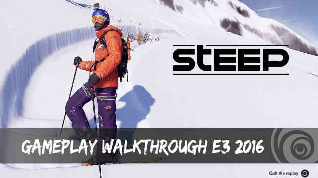 Steep E3 2016 Gameplay Trailer Reaction