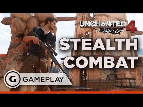 Uncharted 4 – Stealth & Action Gameplay – Official Reaction