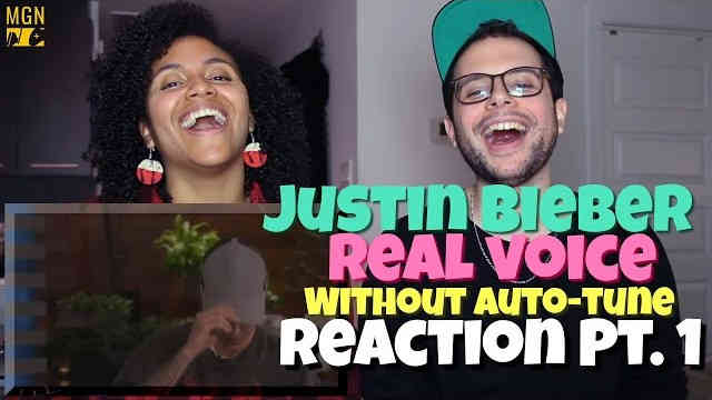 Justin Bieber – Real Voice (Without Auto-Tune) Reaction Pt.1