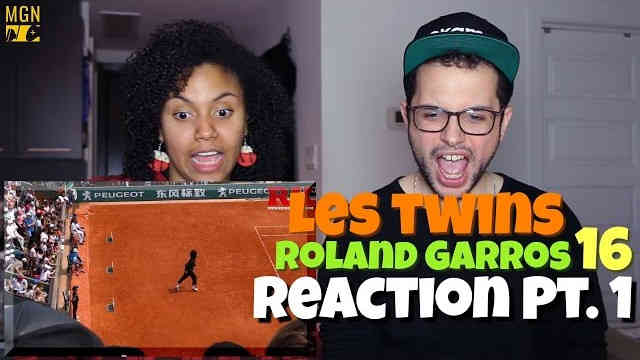 Les Twins – Roland Garros 2016 Reaction Pt.1