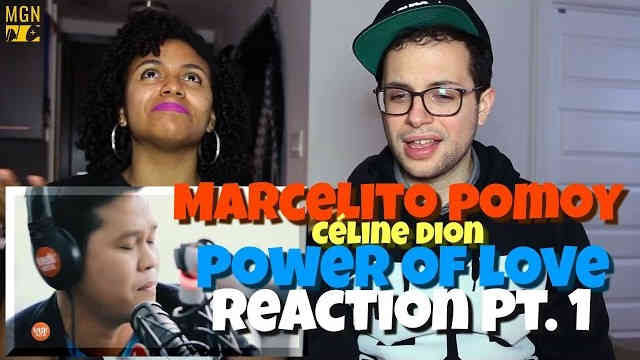 Marcelito Pomoy – Power of Love (Celine Dion) Reaction Pt.1