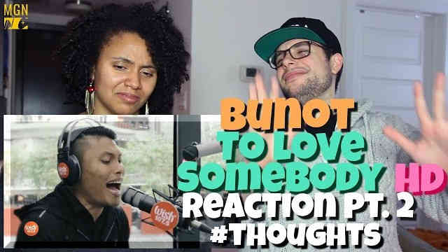 Roland 'Bunot' Abante – To Love Somebody (Michael Bolton) Reaction Pt.2 #Thoughts