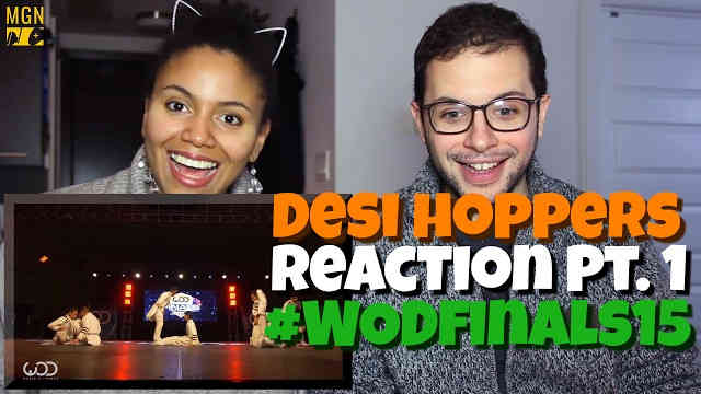 Desi Hoppers 1st Place Finals | FRONTROW | #WODFINALS15 Reaction Pt.1