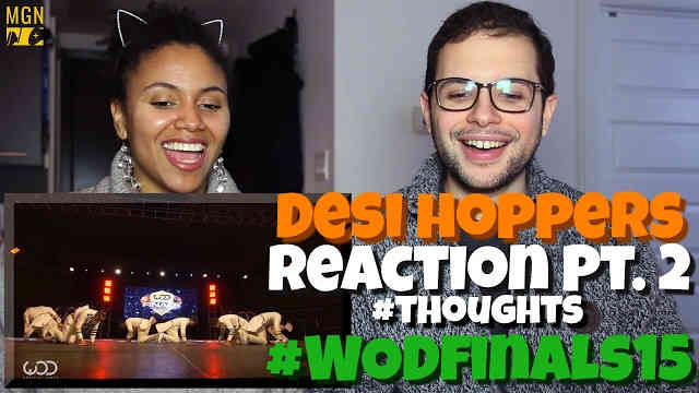 Desi Hoppers 1st Place Finals | FRONTROW | #WODFINALS15 Reaction Pt.2 #Thoughts