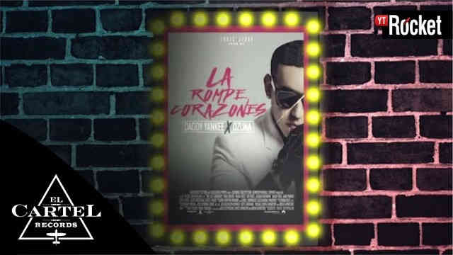 La Rompe Corazones – Daddy Yankee Ft Ozuna (Lyric Video)