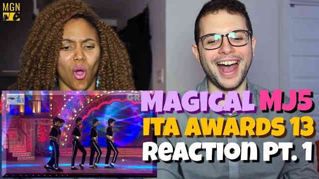 The Magical MJ5 performing at the ITA Awards Reaction Pt.1