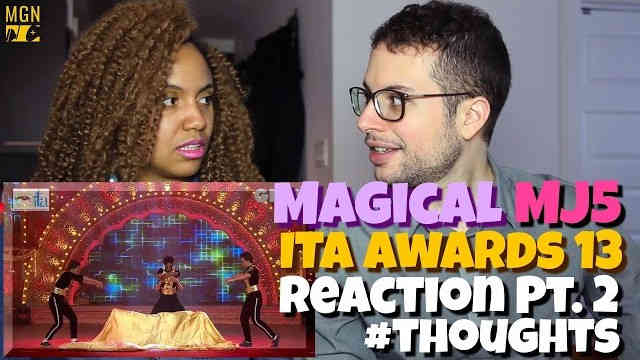 The Magical MJ5 performing at the ITA Awards Reaction Pt.2 #Thoughts
