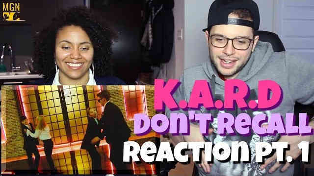 K.A.R.D – Don't Recall (English Version) Reaction Pt.1