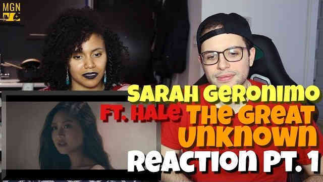 Sarah Geronimo – The Great Unknown (Ft. Hale) Reaction Pt.1