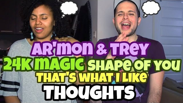 Ar'mon And Trey – 24K Magic | That's What Like | Shape Of You | Mashup THOUGHTS