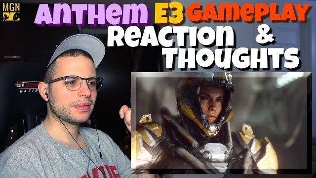 Anthem – Gameplay Reveal Trailer   X Box One X   E3 2017   REACTION & THOUGHTS