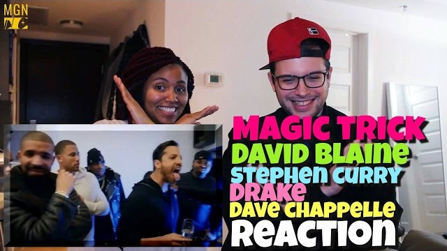 Dave Chappelle, Steph Curry & Drake FREAK OUT to Magician David Blaine Reaction