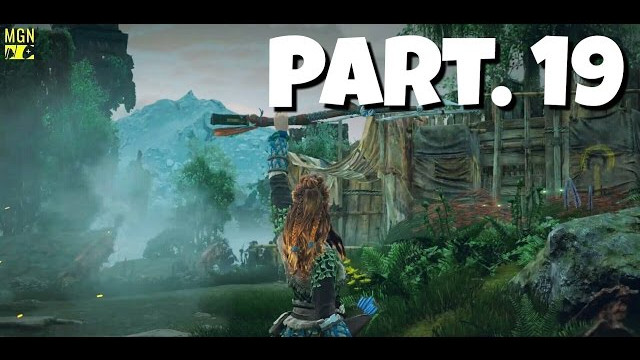 HORIZON ZERO DAWN Walkthrough Gameplay Part 19 – 3d Camp (Let's Play)