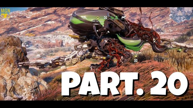 HORIZON ZERO DAWN Walkthrough Gameplay Part 20 – Corruption Zone Fail (Let's Play)