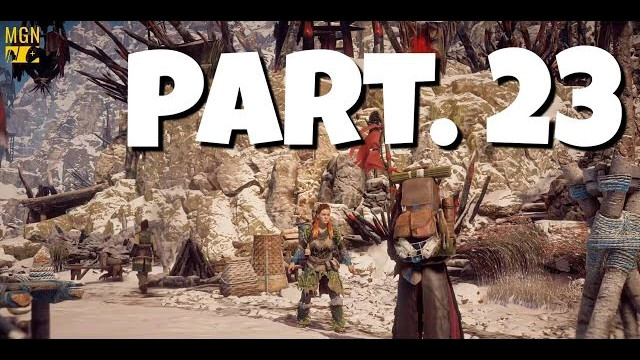 HORIZON ZERO DAWN Walkthrough Gameplay Part 23 – Bandit Camp Too Teeth (Let's Play)