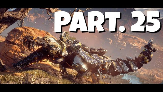 HORIZON ZERO DAWN Walkthrough Gameplay Part 25 – First Snapmaw Encounter (Let's Play)