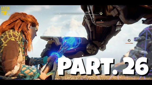 HORIZON ZERO DAWN Walkthrough Gameplay Part 26 – Overriding A Sawtooth For The 1st Time (Let's Play)