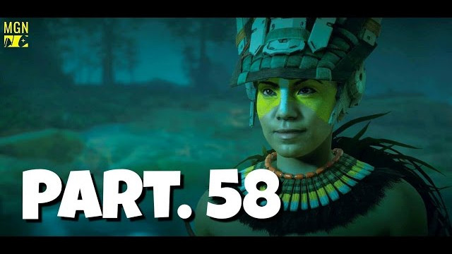 HORIZON ZERO DAWN Walkthrough Gameplay Part 58 – Killing Snapmaws for Rea (Let's Play)