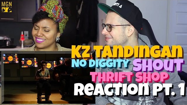 KZ Tandingan – No Diggity x Shout x Thrift Shop (Mashup) Reaction Pt.1