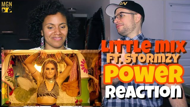 Little Mix – Power (Ft. Stormzy) | REACTION
