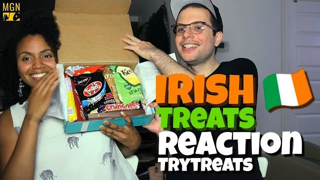 Montrealers Taste Irish Snacks | TryTreats | REACTION