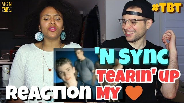 'N Sync – Tearin' Up My Heart | REACTION