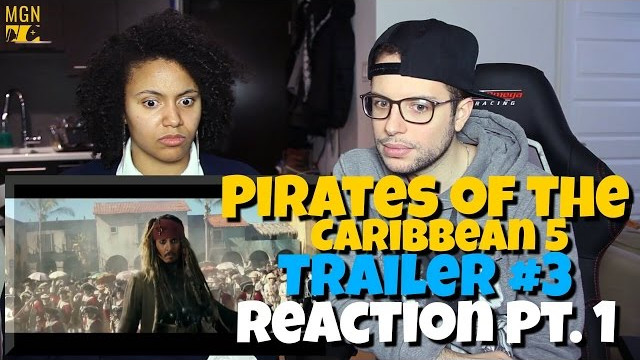 Pirates Of The Caribbean 5 – Trailer 3 Reaction Pt.1