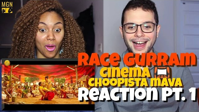 Race Gurram – Cinema Choopistha Mava | Allu Arjun | Shruti Haasan Reaction Pt.1
