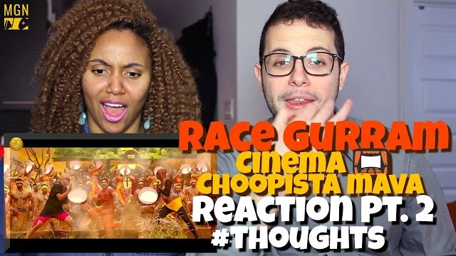 Race Gurram – Cinema Choopistha Mava | Allu Arjun | Shruti Haasan Reaction Pt.2 #Thoughts