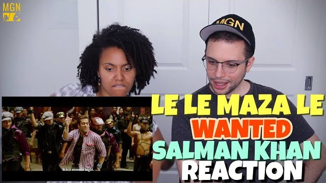Le Le Maza Le – Wanted | Salman Khan | REACTION