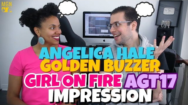 Angelica Hale – Girl On Fire | Golden Buzzer | America's Got Talent 2017 | IMPRESSION