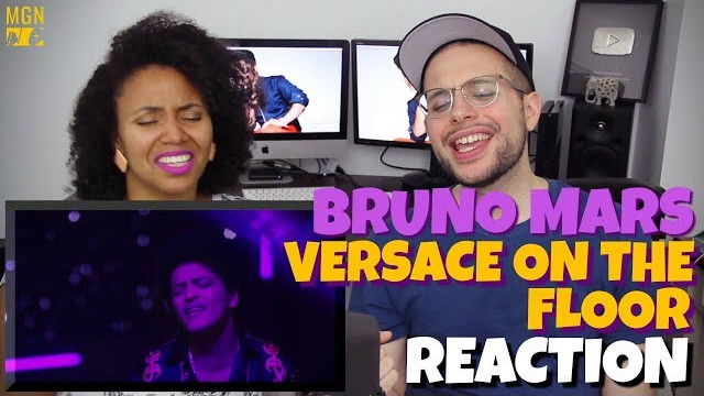 Bruno Mars – Versace On The Floor | REACTION