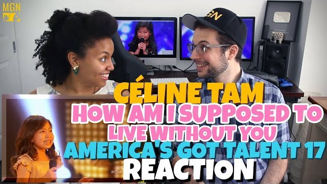 Celine Tam – How Am I Supposed To Live Without You | America's Got Talent 2017 | REACTION