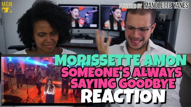 Morissette Amon – Someone's Always Saying Goodbye | MYX Live | PATREON REACTION