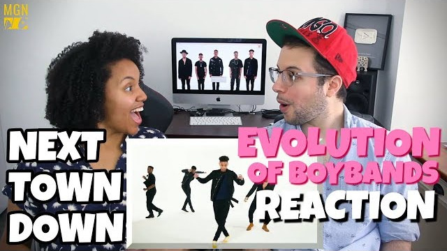 Next Town Down – Evolution of Boybands | REACTION