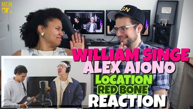 William Singe & Alex Aiono – Location (Khalid) & Red Bone (Childish Gambino) | REACTION