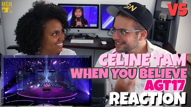 Celine Tam – When You Believe | America's Got Talent 2017 | VS | REACTION