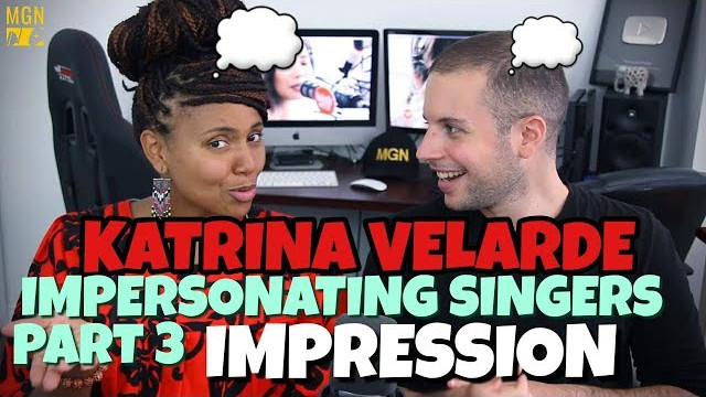 KATRINA VELARDE – IMPERSONATING SINGERS 3 | BURN | IMPRESSION