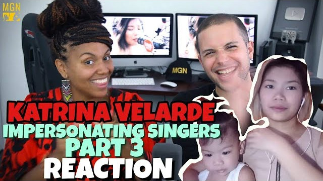 KATRINA VELARDE – IMPERSONATING SINGERS 3 | BURN | REACTION