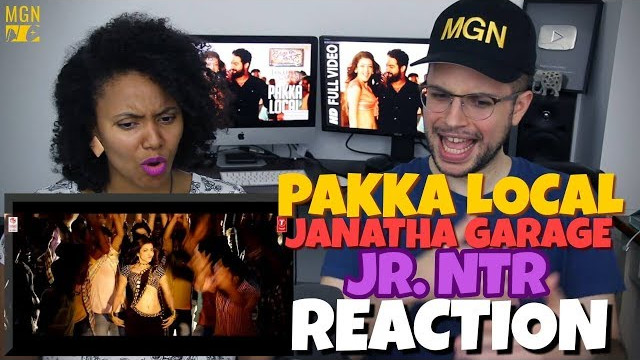 Pakka Local – Janatha Garage | Jr. NTR, Kajal,Samantha, Mohanlal | Telugu | REACTION