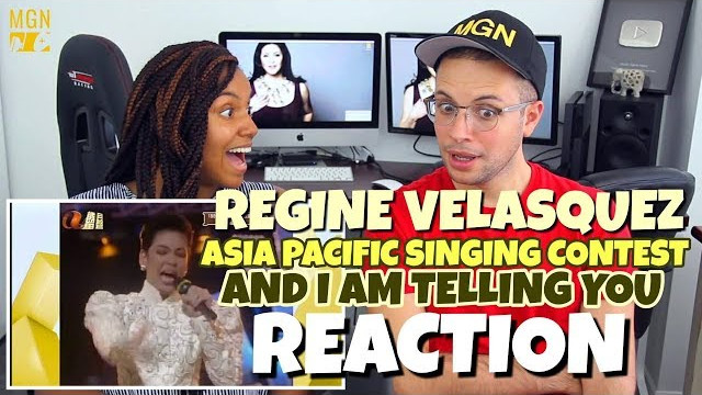 Regine Velasquez – Asia Pacific Singing Contest (1989) | And I'm Telling You | PATREON REACTION