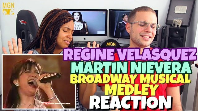 Regine Velasquez & Martin Nievera – Broadway Musical Medley | PATREON REACTION