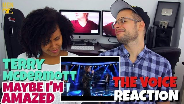 Terry McDermott – Maybe I'm Amazed | The Voice | PATREON REACTION/IMPRESSION